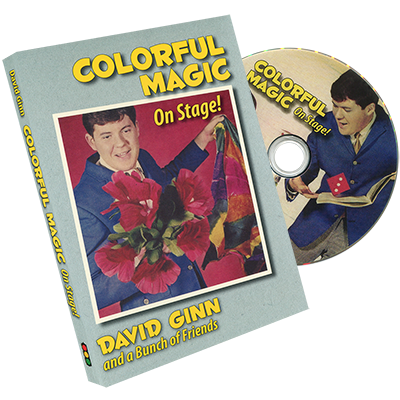 Colorful Magic on Stage - David Ginn - DVD