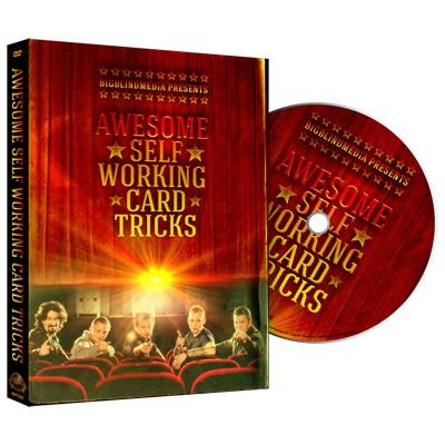 Awesome Self Working Card Tricks - Big Blind Media - DVD