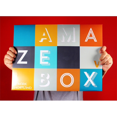 AmazeBox (Gimmicks & Instrucciones Online) - Mark Shortland & Vanishing Inc