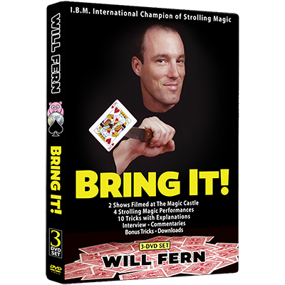 Will Fern: Bring It! - Negro Rabbit Series Issue #6 (3-DVD Set) - DVD