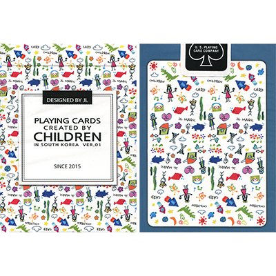 Playing Cards Created by Children by US Playing Card