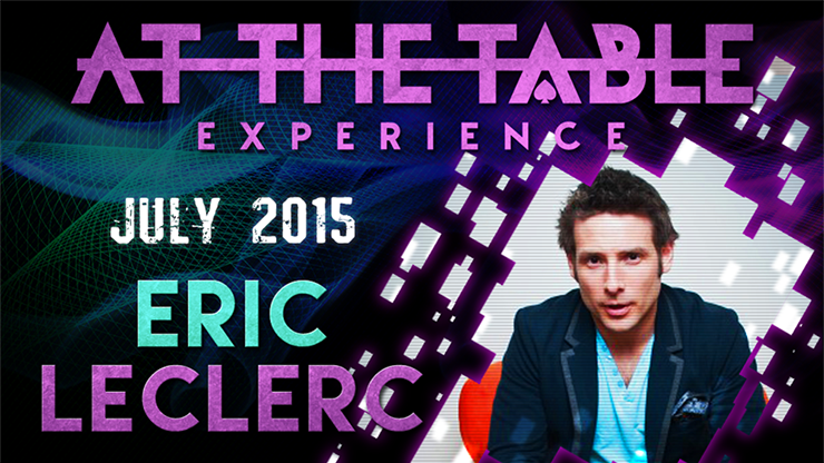 At The Table Live Lecture - Eric Leclerc July 15th 2015 video DOWNLOAD