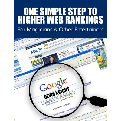 One Simple Step To Higher Web Rankings For Magicians by Devin Knight eBook DOWNLOAD