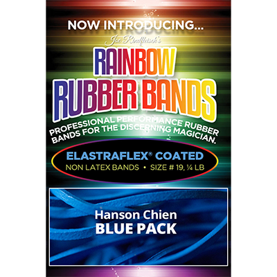 Joe Rindfleischs Rainbow Rubber Bands (Hanson Chien - Blue Pack) - Joe Rindfleisch