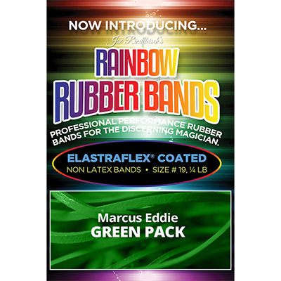 Joe Rindfleisch's Rainbow Rubber Bands (Marcus Eddie - Green Pack  )
