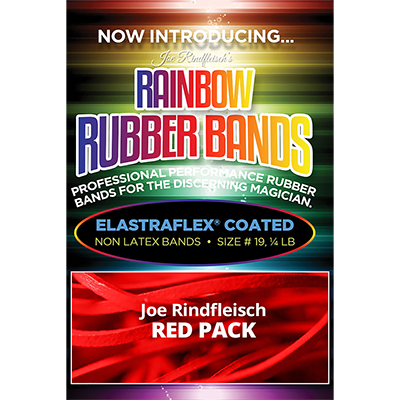 Joe Rindfleisch's Rainbow Rubber Bands (Joe Rindfleisch - Red Pack)