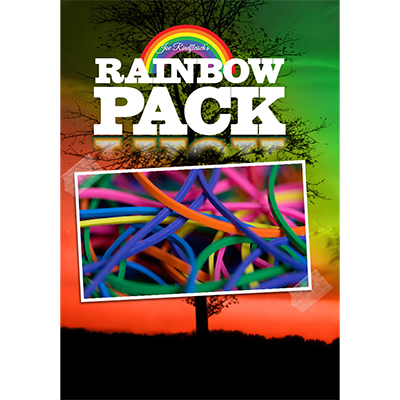 Joe Rindfleischs Rainbow Rubber Bands (Rainbow Pack) - Joe Rindfleisch
