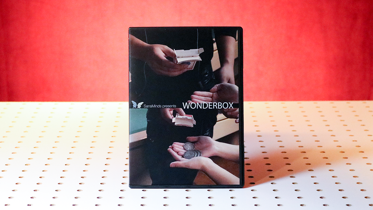 Wonderbox (DVD and Gimmick) by SansMinds - DVD