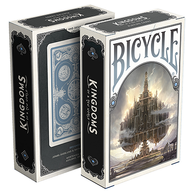 Bicycle Kingdoms (Blue) Playing Cards