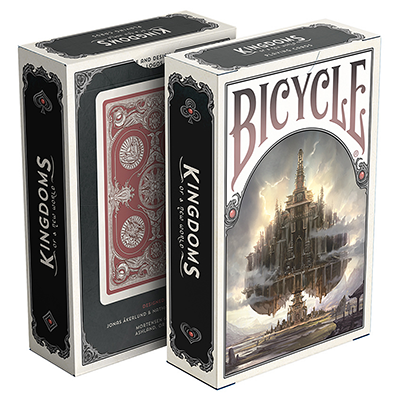Bicycle Kingdoms (Rojo) Playing Cards