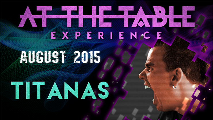 At the Table Live Lecture Titanas - August 5th