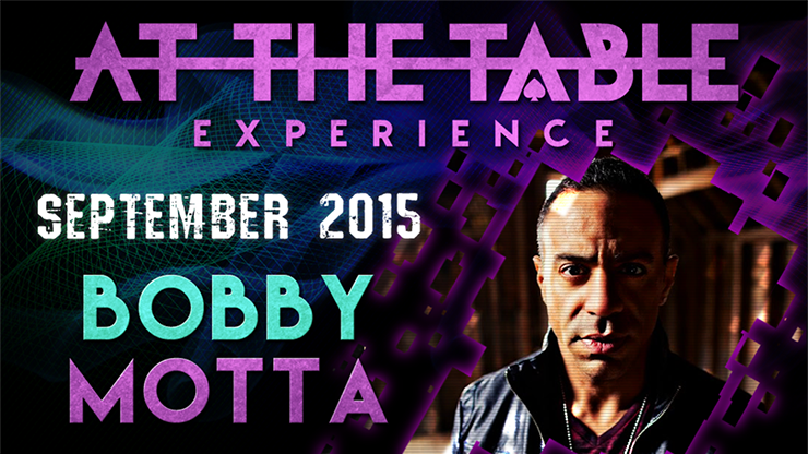 At the Table Live Lecture - Bobby Motta September 16th