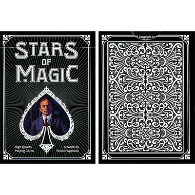Stars of Magic (Negro) Playing Cards
