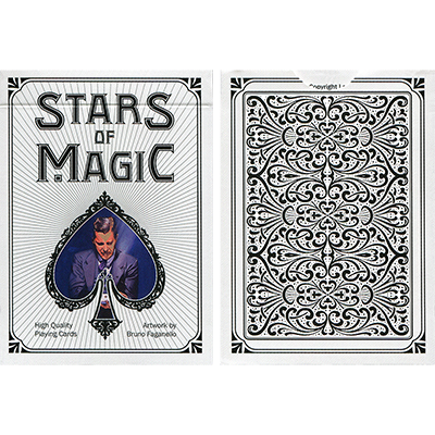 Stars of Magic (White) Playing Cards