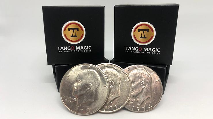 Three in One (Eisenhower Dollar) Set (D0175) by Tango - Trick