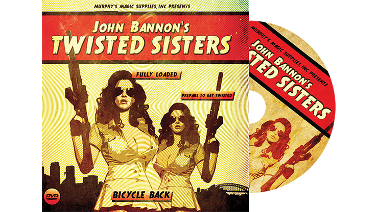 Twisted Sisters 2.0 (DVD & Gimmick) Bicycle - John Bannon