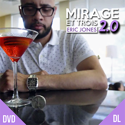 Mirage Et Trois 2.0 by Eric Jones and Lost Art Magic  - DVD