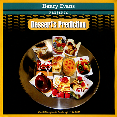 Dessert's Prediction by Henry Evans... MagicWorld Magic Shop