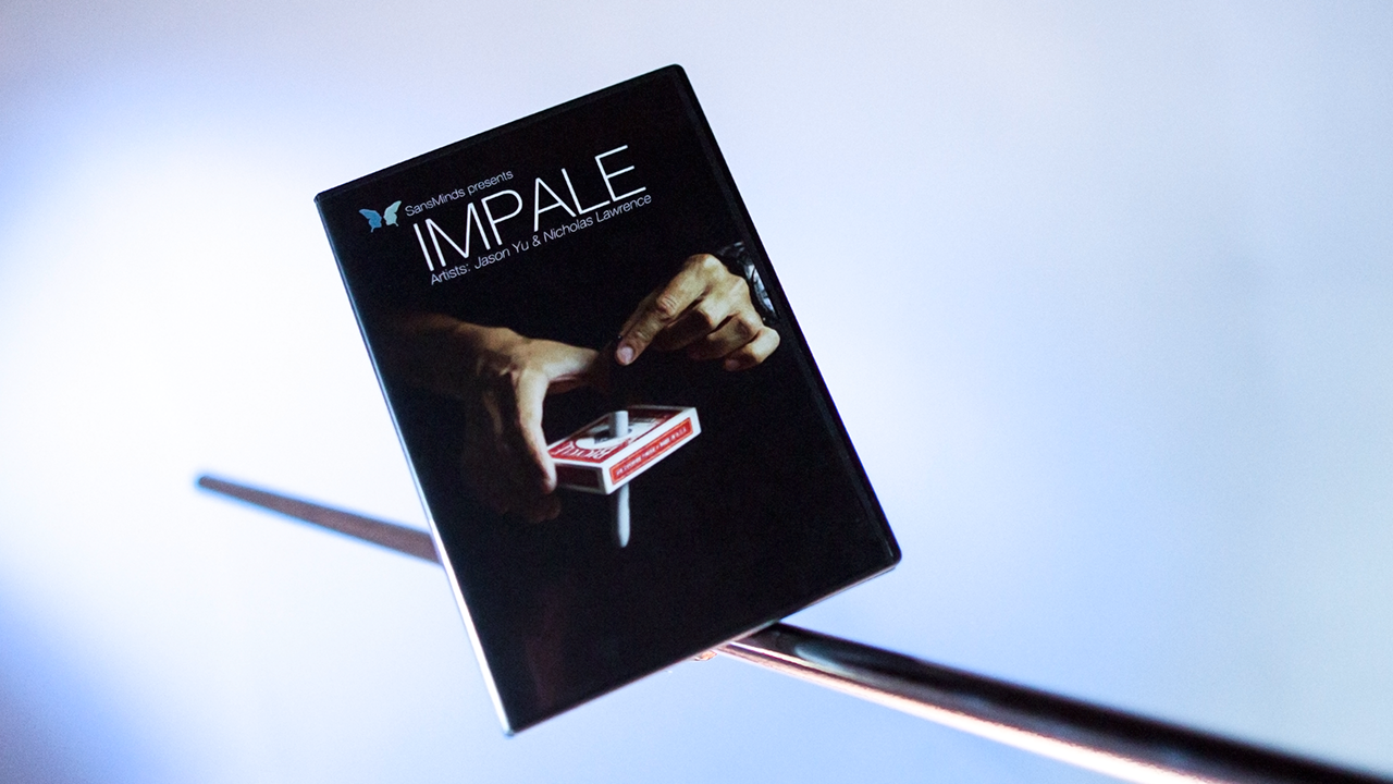 Impale (DVD and Gimmicks) by Jason Yu and Nicholas Lawrence - DVD