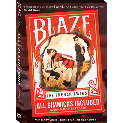 BLAZE - Tony & Jordan (Les French TWINS)