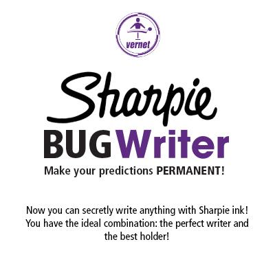 Sharpie BUG Writer by Vernet