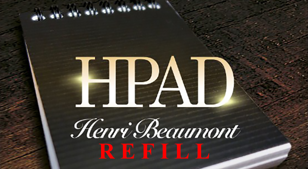 Refill for HPad - Henri Beaumont & Marchand de Trucs