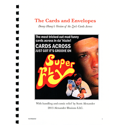 Super Fly (Cards Across) Lecture Notes - Scott Alexander - Libro de Magia