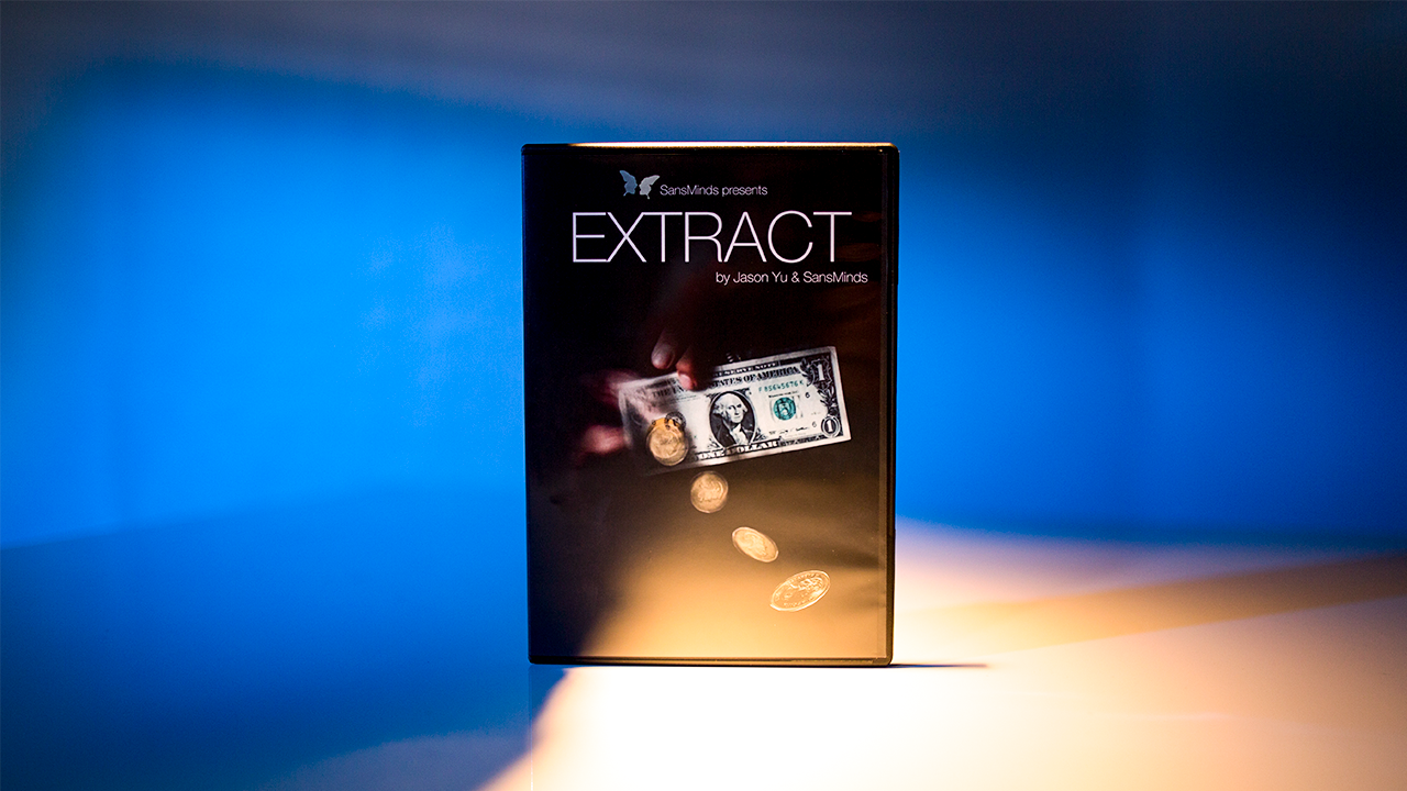 Extract (DVD and Gimmick) by Jason Yu and SansMinds - DVD