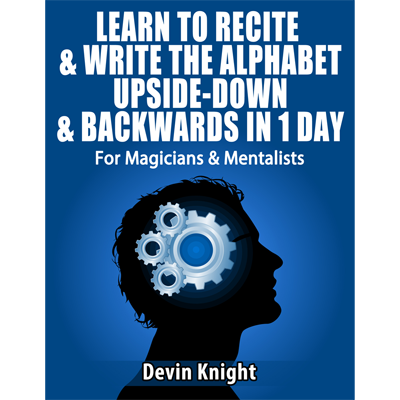 Alphabet In Reverse - Devin Knight - - eBook