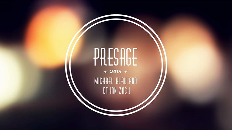 Presage by Ethan Zack & Michael Blau - video DOWNLOAD
