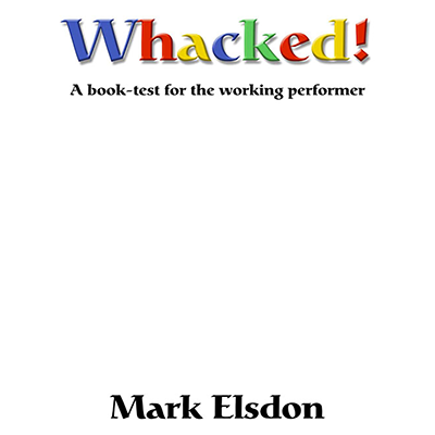 Whacked Book Test by Mark Elsdon eBook DOWNLOAD
