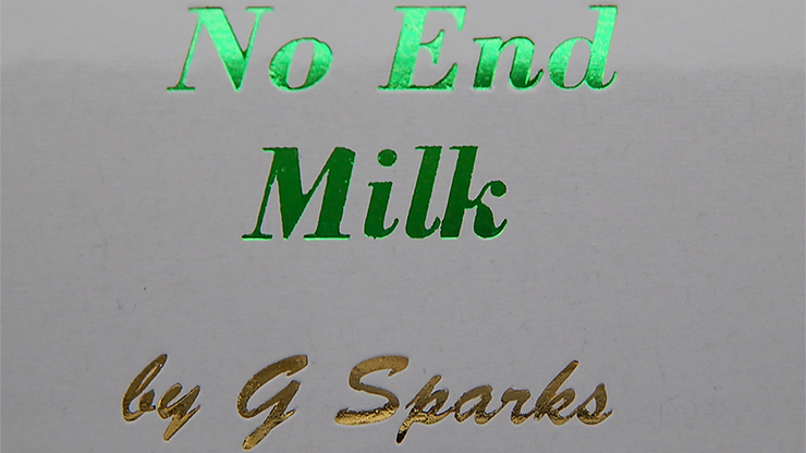 Never Ending Glass of Milk by G Sparks - Trick