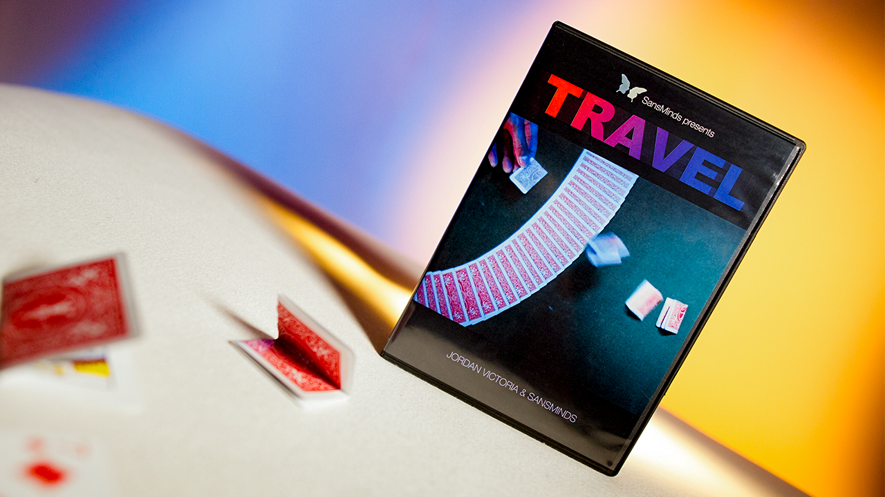 Travel (DVD and Gimmick) by Jordan Victoria and SansMinds