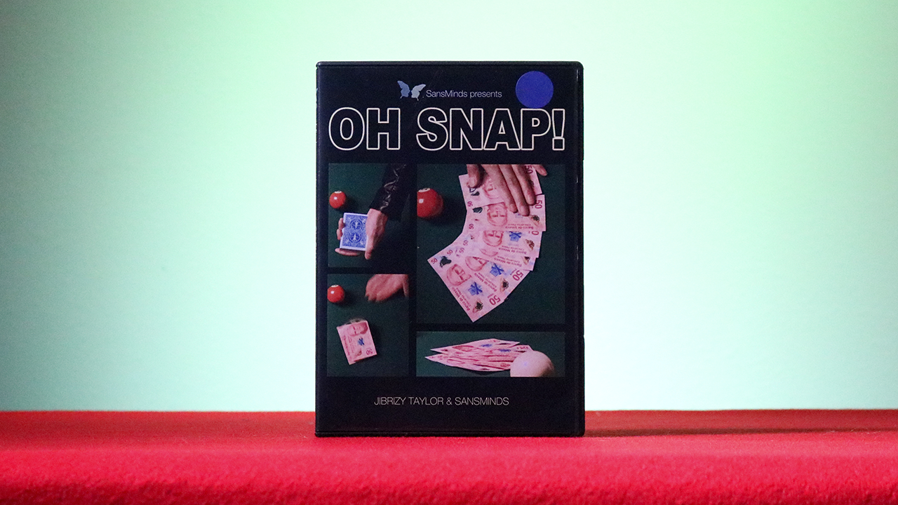 OH  SNAP! Red (DVD and Gimmick) by Jibrizy Taylor and SansMinds