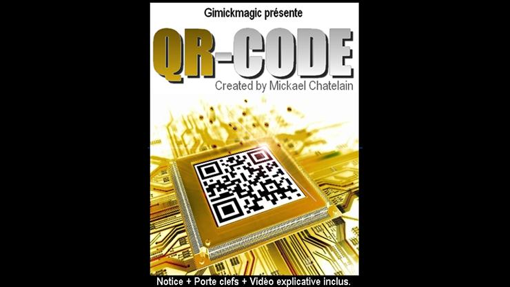 QR Code by Mickael Chatelain - Kartenvoraussage mit QR-Code auf Smartphone