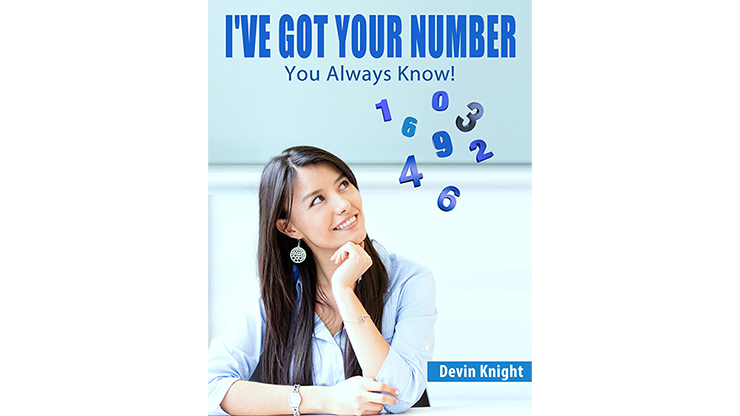 I've Got Your Number (Online Instruction & Gimmick) - Devin Knight - eBook