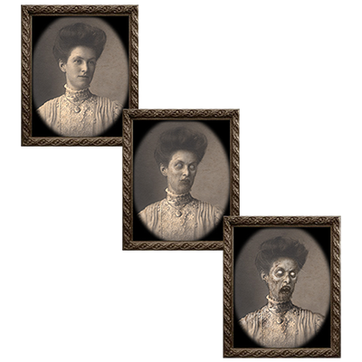 Changing Portrait - Aunt Eleanor (5 x 7) by Eddie Allen - Trick