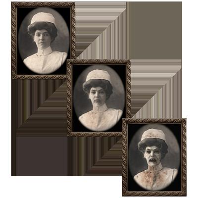 Changing Portrait - Aunt Carmilla (5 x 7) - Eddie Allen