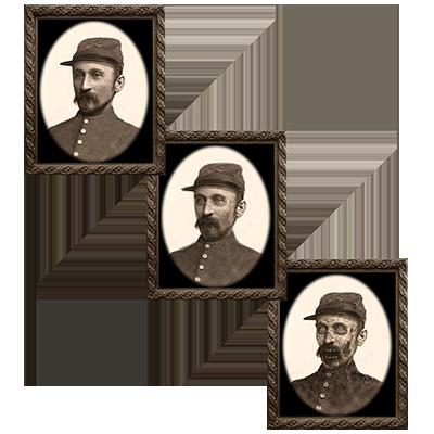 Changing Portrait - Uncle Silas (5 x 7) by Eddie Allen - Trick