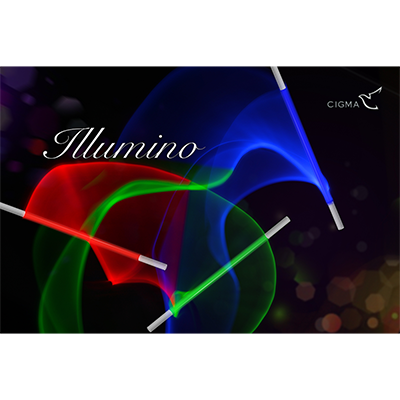 Illumino color changing Wand by Cigma Magic - Trick