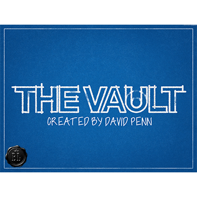 The Vault Clear (DVD and Gimmick) created by David Penn