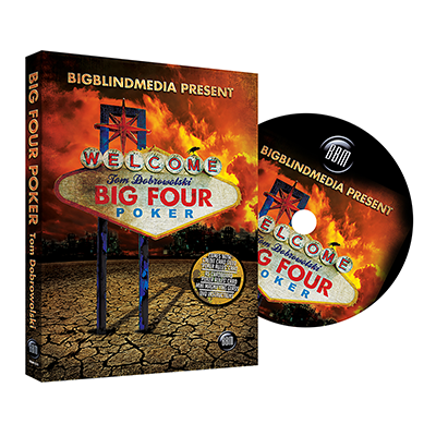 Big Four Poker Japanese version (English DVD and Japanese Gimmick) by Tom Dobrowolski and Big Blind Media - DVD