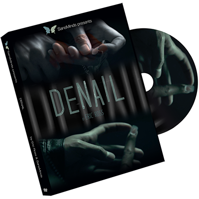 Denail (Medium) DVD & Gimmick - Eric Ross & SansMinds - DVD