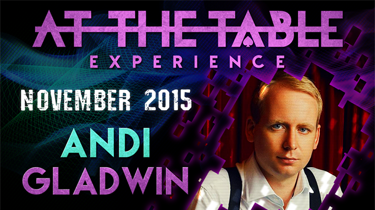 At the Table Live Lecture - Andi Gladwin November 18th