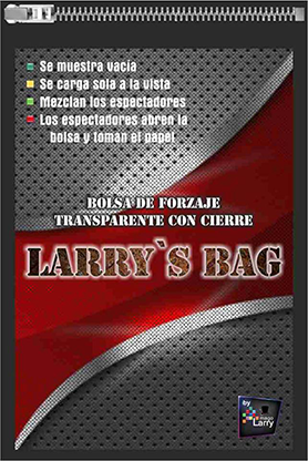Larry's Bag (Gimmick and Online Instructions) by Mago Larry - Trick