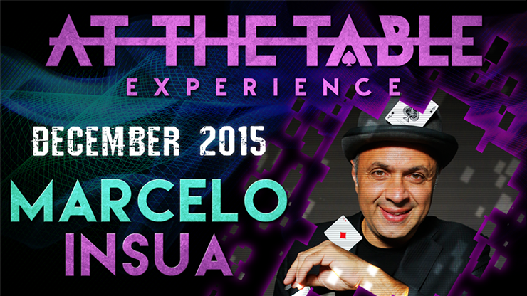 At the Table Live Lecture - Marcelo Insua December 2nd