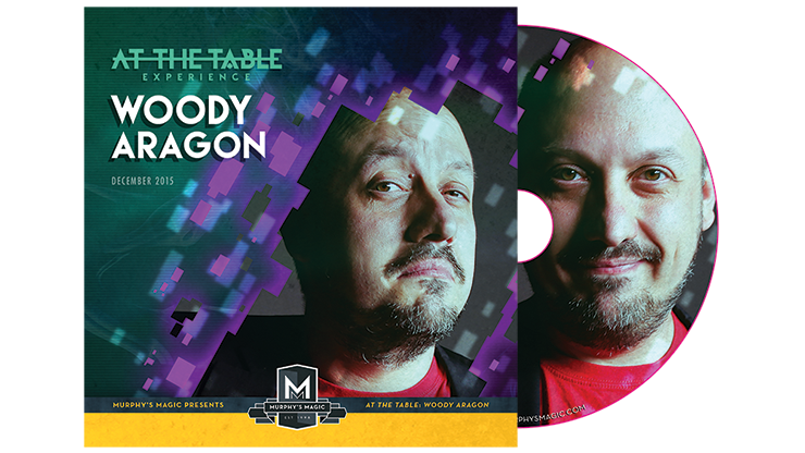 At the Table Live Lecture Woody Aragon - DVD