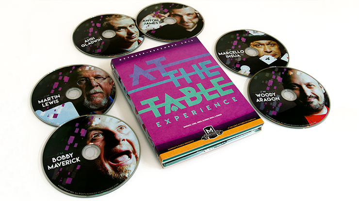 At the Table Live Lecture October-December 2015 (6 DVD set)
