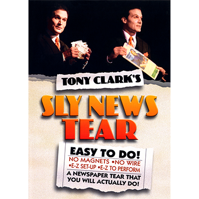 Sly News Tear by Tony Clark