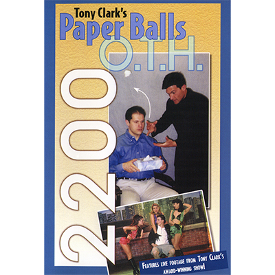 Paper Balls Over The Head by Tony Clark Video DOWNLOAD